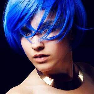 Tinta Temporária em Spray para Pintar o Cabelo - Azul - Catelândia