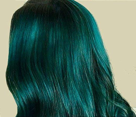 Tinta Temporária em Spray para Pintar o Cabelo - Verde - Catelândia