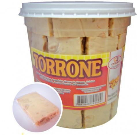 Torrone Pote com 50 Doces Embalados Individualmente - Doces Catelan