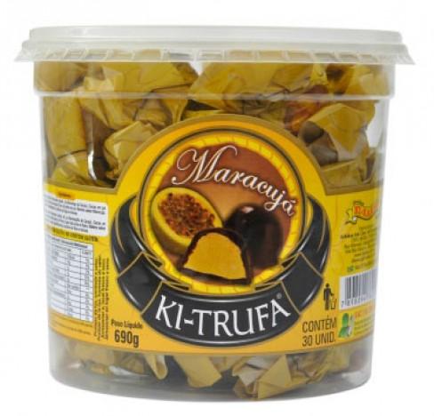 Trufas de Chocolate com Recheio de Maracujá 30 Un - Catelândia