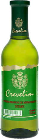 Vinho Crevelin Branco Suave 375ml - Catelândia