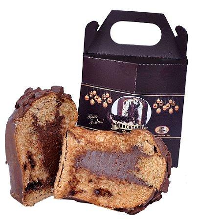 Mini Chocottone Trufado Chocolate ao Leite Tipo Belga 150 Gramas