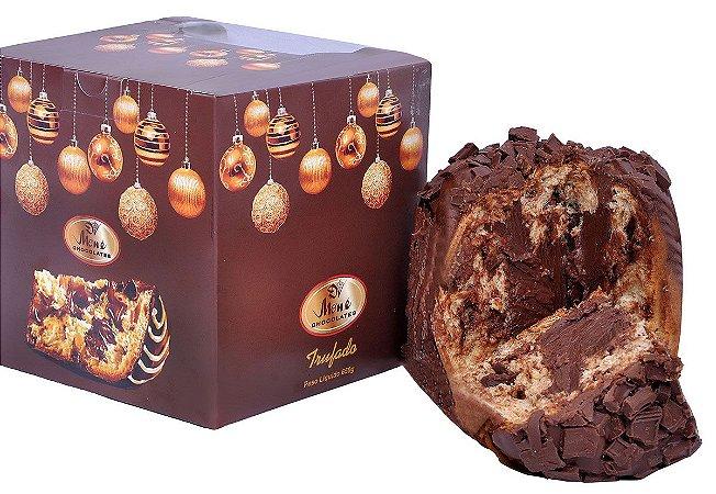 Chocotone Trufado Chocolate Belga Meio Amargo 70% Cacau 650g