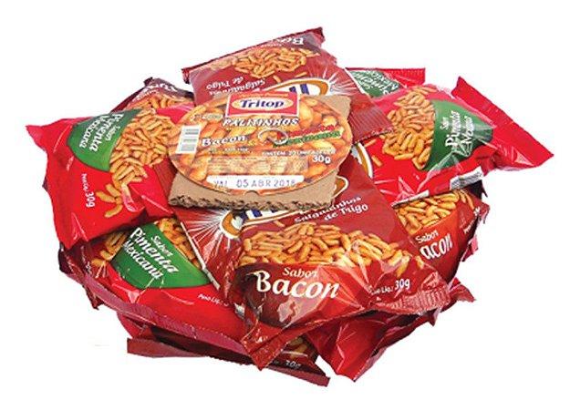 Salgadinho de Trigo Sabor Bacon e Pimenta Mexicana 20 un