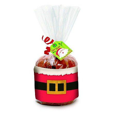 Panetone Trufado Sem Frutas Chocolate Belga 650 Gramas