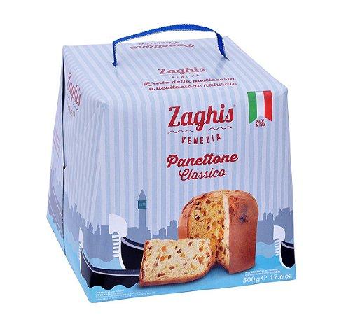 Panetone Importado Italiano Receita Original Zaghis
