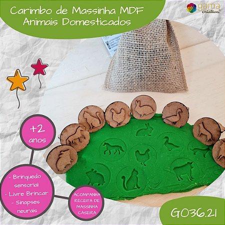 Carimbos de Pegadas - MDF - Animais Selvagens, Domesticados e Brasileiros (MODELOS)