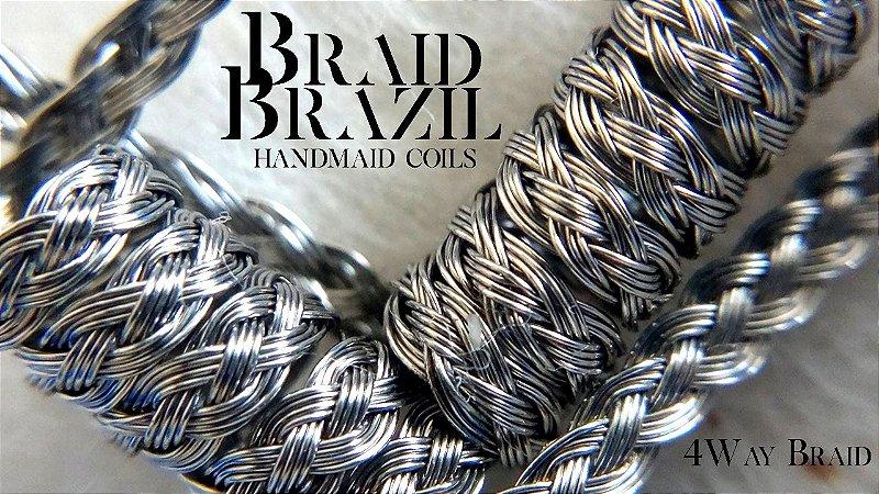 BRAID BRAZIL - 4 Way Braid