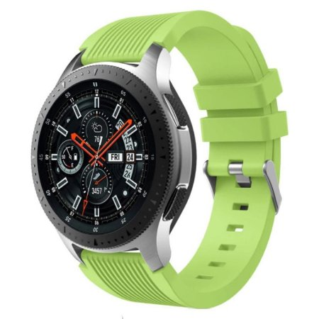 Pulseira Texturizada Verde 20mm - (BIP, Gear S2, etc)