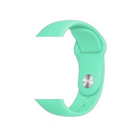 DUPLICADO - Pulseira Lisa para Apple Watch Azul Bebê - 42 44mm