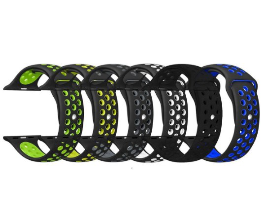 Pulseira esporte para Apple Watch 42 44MM