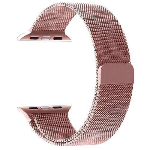 Pulseira ROSE Milanese Loop para Apple Watch 42 44MM