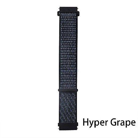 Nylon Hyper Grape  20 mm - (BIP, Gear S2, etc)