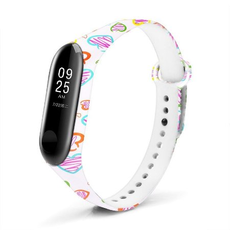 Silicone Love E52 - Mi Band 3/4