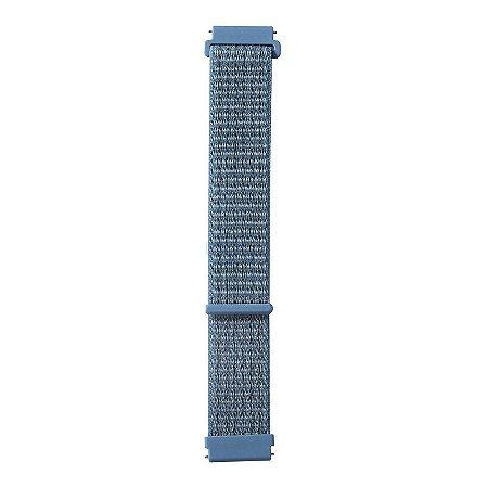 Nylon Azul Celestial - Amazfit Pacer 22mm