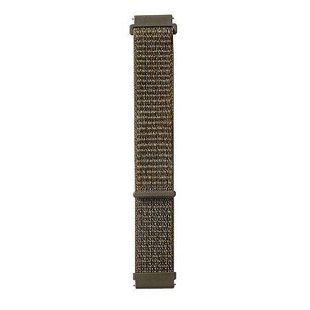 Nylon Verde Militar - Amazfit Pacer 22mm