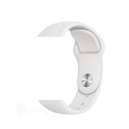 Pulseira Lisa para Apple Watch Branco - 42 44mm