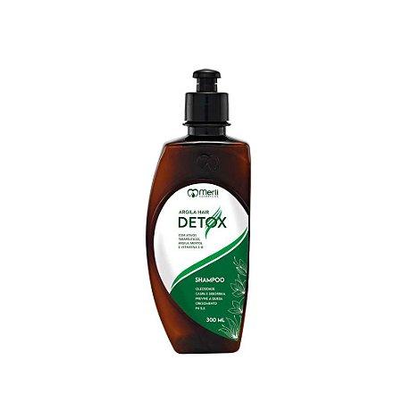Shampoo Detox 300ml cabelos oleosos