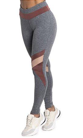 Legging Du Sell Fit com Lummy e Tule Ref. 5720