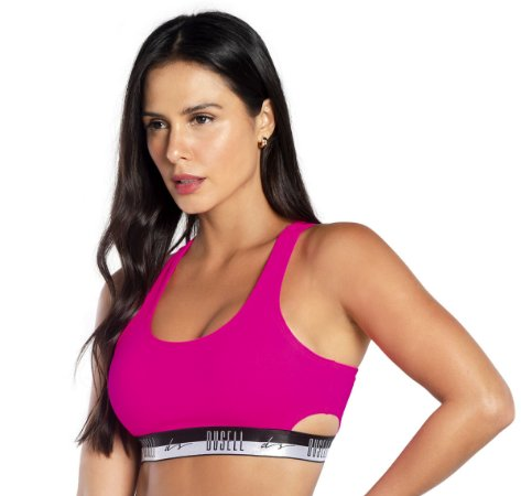 Top Du Sell Fit com Elástico Ref. 2958