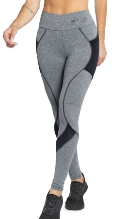 Legging Fit com Quadrile Ref. 5773