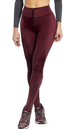 Legging Du Sell Prada com Zíper Ref. 5747