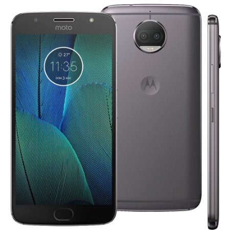 Smartphone Motorola Moto G5s Plus XT1802 Platinum 32GB, Tela 5.5'', Dual Chip, TV Digital, Android 7.1, Câmera Traseira Dupla 13MP e 3GB RAM