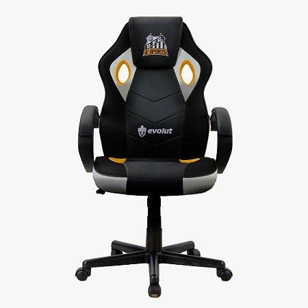 Cadeira Gamer EG901 Santos Futebol Clube Edição Limitada