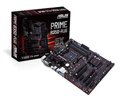 PLACA MÃE PRIME B350-PLUS AMD B350 (SOCKET AM4) DDR4 ATX