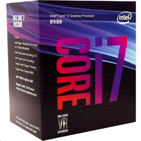 PROCESSADOR INTEL CORE I7-8700 COFFEE LAKE LGA 1151 3.2GHZ 12MB CACHE
