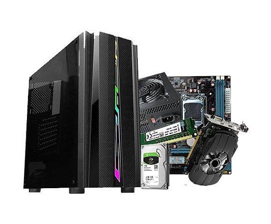 PC Gamer Líder Médio, Core i5, 8GB, Hd 1TB, 500w, GTX 1650 4GB DDR5, Wifi USB
