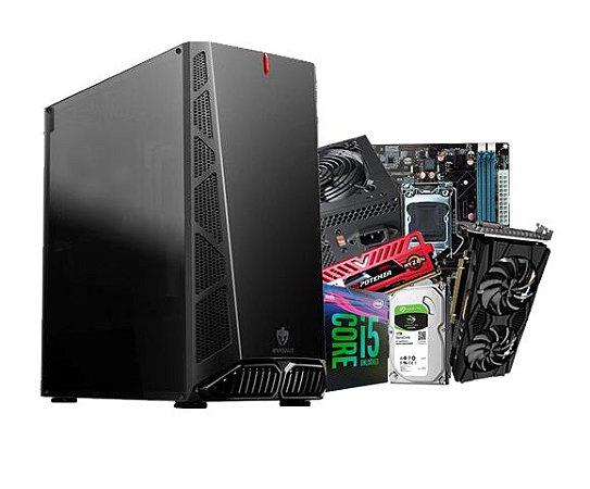 PC Gamer Líder Ultra - Core I5 9º, 8gb, Ssd 120, RTX 2060 GDDR6 6gb, Hd 1tb, 600w 80plus