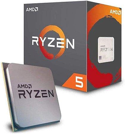 Processador AMD Ryzen 5 2600 3.4GHz (3.9GHz Turbo), 6-Cores 12-Threads, Cooler Wraith Stealth, AM4, , S/ Video