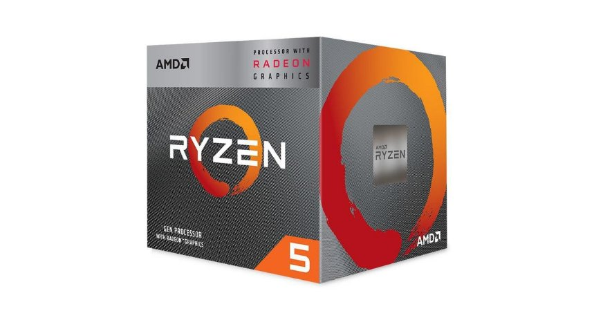 Processador AMD Ryzen 5 3400G 3.7GHz (4.2GHz Turbo), 4-Cores 8-Threads, Cooler Wraith Stealth, AM4