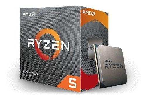 Processador AMD Ryzen 5 3600 3.6GHz (4.2GHz Turbo), 6-Cores 12-Threads, Cooler Wraith Stealth, AM4,, S/ Video