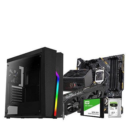 PC Gamer Líder ,INTEL I7 8700 ,GTX 1660 SUPER, 16GB DDR4,HD SSD 240GB, HD 1TB, 600W,
