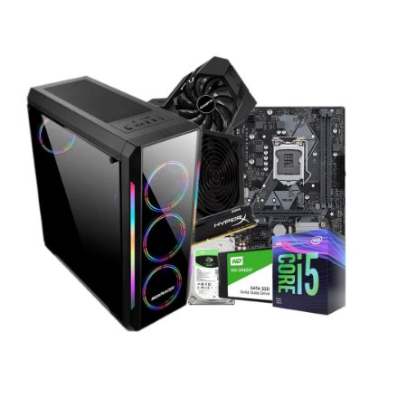 PC GAMER LÍDER - H310, CORE I5, 16GB, HD 1TB, SSD 120GB,600W, GTX 1660 SUPER ,GABINETE GAMER