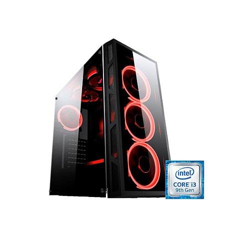 PC GAMER LIDER - H310M-I3 9350KF-8GB 2666MHZ-SSD 240GB-550W -1650 4GB-GABINETE GAMER- 3XFANS