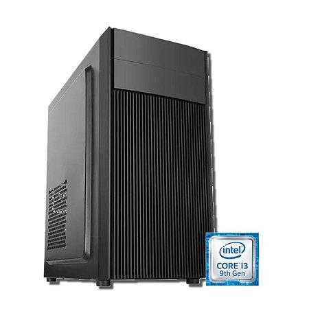 PC GAME * H310/I3 9100F-8GB DDR4-SSD 240GB-500W-RX 550 4GB-GABINETE ATX GAMER