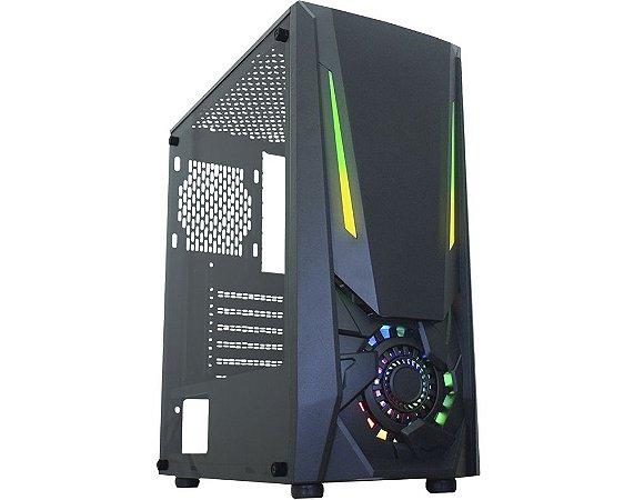 PC GAMER FREEFIRE- H61-I5 3470-2X8GB DDR3-SSD 240GB-FONTE 500W -RX 550 4GB-GABINEET GAMER RGB