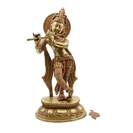 Estatueta de Krishna