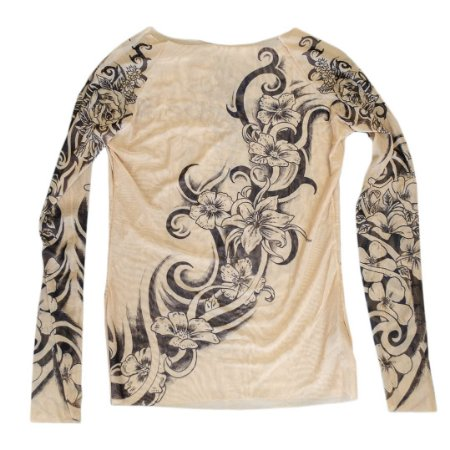 Blusa Tatoo Tribal Florida