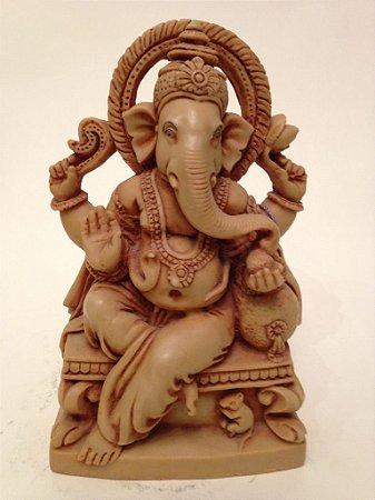 Estatueta de Ganesh em Resina
