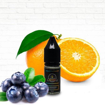 Blueranjão - 10ml - E-liquid de Blueberry, Laranja e Limão