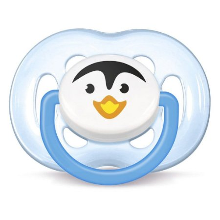 Chupeta Avent Freeflow Pinguim Unitário – Menino
