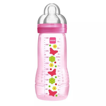 Mamadeira MAM 330ml Easy Active Fashion Bottle Girls – 4m+