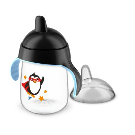 Copo Pinguim Philips Avent 340ml Antivazamento - Preto
