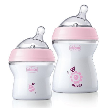 Kit 2 Mamadeiras Chicco Stepup Rosa 1 De 150ml E 1 De 250ml