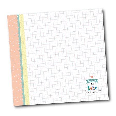 Álbum do Bebê Completo Rosa Coloré