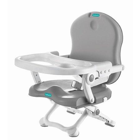 Cadeira de Alimentação Portátil Para bebê Cinza - Bebeliê